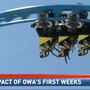 OWA impacting economy only two weeks after opening
