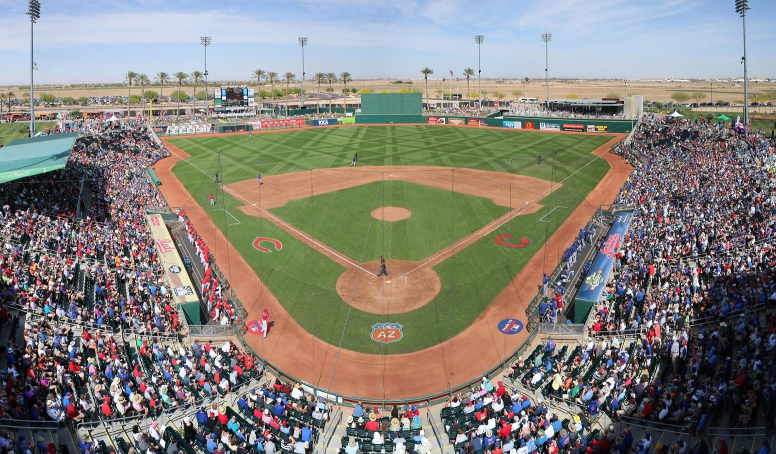 "LOCATION: Phoenix / MILES FROM CINCY: 1,577 / REASON TO VISIT: The Reds! And of course that ""dry heat"" everyone keeps talking about. But more, the Reds. They do their spring training in Phoenix at Goodyear Park, an 8,000 seat stadium that isn't a bad place to watch a ballgame (especially in March, when your baseball withdrawal is at its most severe). Phoenix ain't half bad as a destination city either. And the best part is Southwest Airlines offers flights that align with the Reds being down there, March 8-April 7. / Image courtesy of the Cincinnati Reds // Published: 1.26.18"