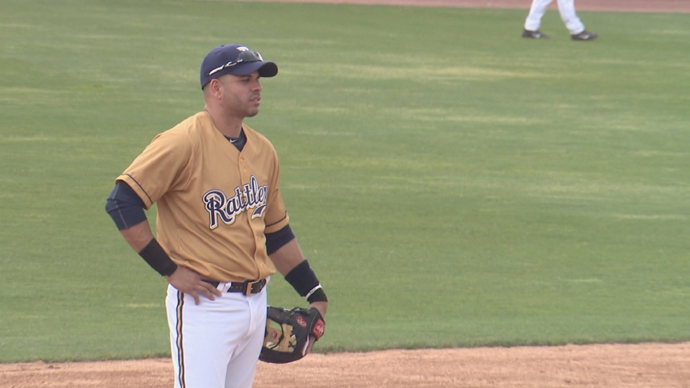 Aramis Ramirez plays third base for the Timber Rattlers as part of a rehab assignment.