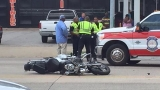Beaumont man killed when motorcycle collided with van