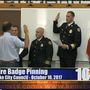 Elko Fire Department Badge Pinning
