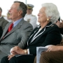 Both George H.W. and Barbara Bush hospitalized