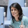 Haley leaves UN Security Council meet as Palestinian envoy's speaking: report