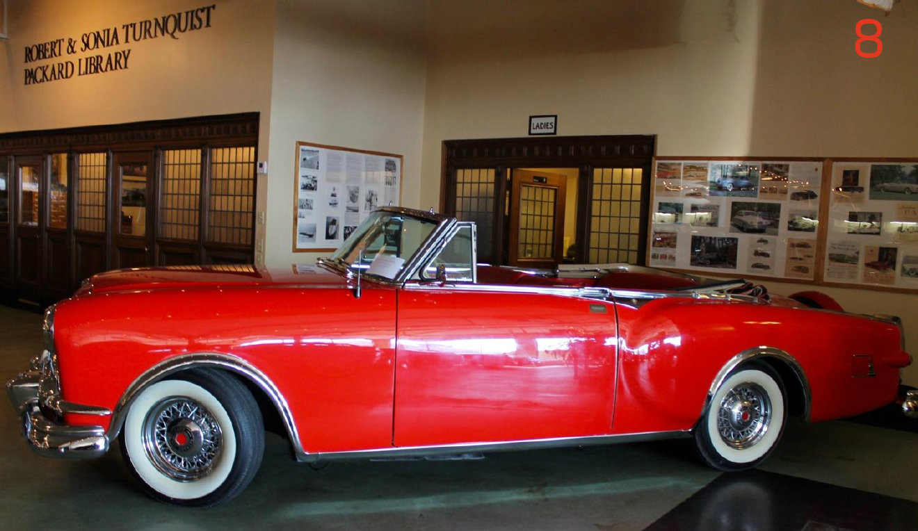 #8 - If you're a lover of old cars/ car history, America's Packard Museum (located in Dayton) is the place for you. / Image: Rose Brewington