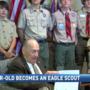 Retired veteran gets the chance to become an Eagle Scout