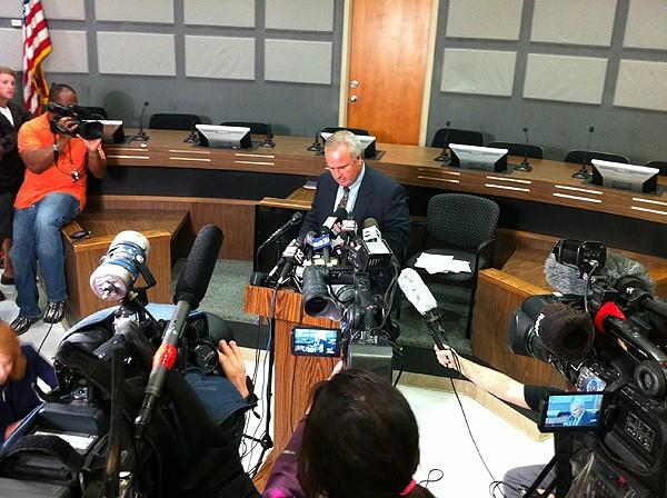 News conference about Auburn shootings 6-10-12