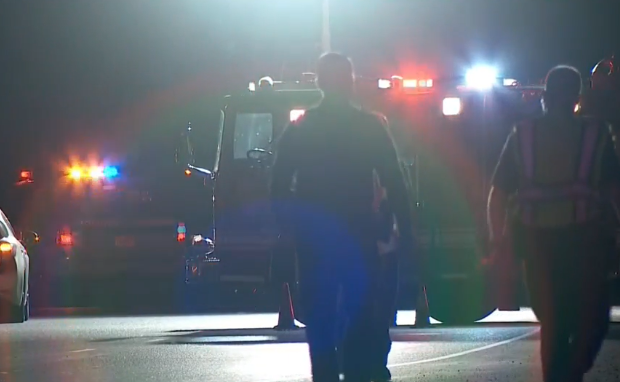 A woman was killed after being hit by a car in Taylorsville on Monday night, police said. (Photo: KUTV)