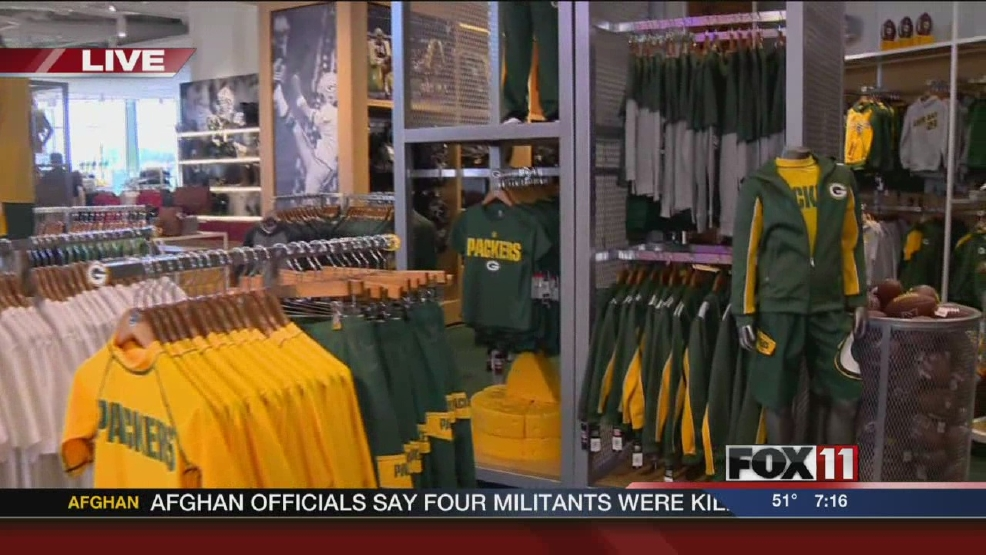 Thumbnail for Packers Pro Shop opening story