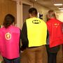 'Happiness comes from serving others' Gibbon students deliver superhero capes to hospital