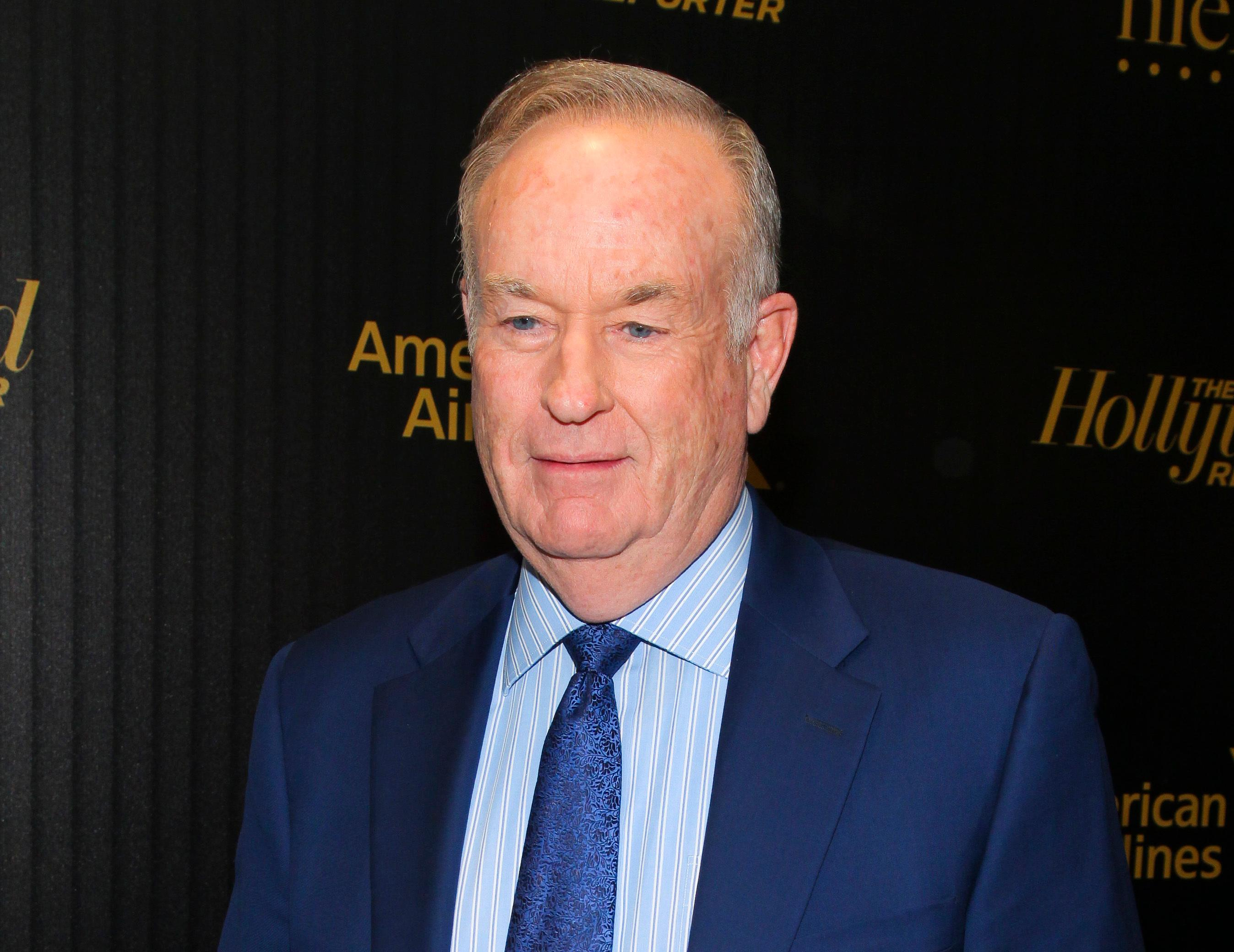 "FILE - In this April 6, 2016, file photo, Bill O'Reilly attends The Hollywood Reporter's ""35 Most Powerful People in Media"" celebration in New York. Through three"