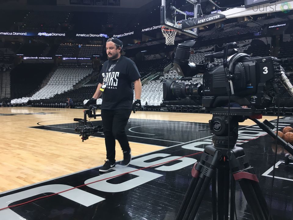 Show us YOUR Spurs Spirit! Text the word 'SHARE' to 44332 and follow the directions.  We'll be showing your photos and video on air and online.