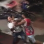 Video: Violent fight caught on camera; Man arrested