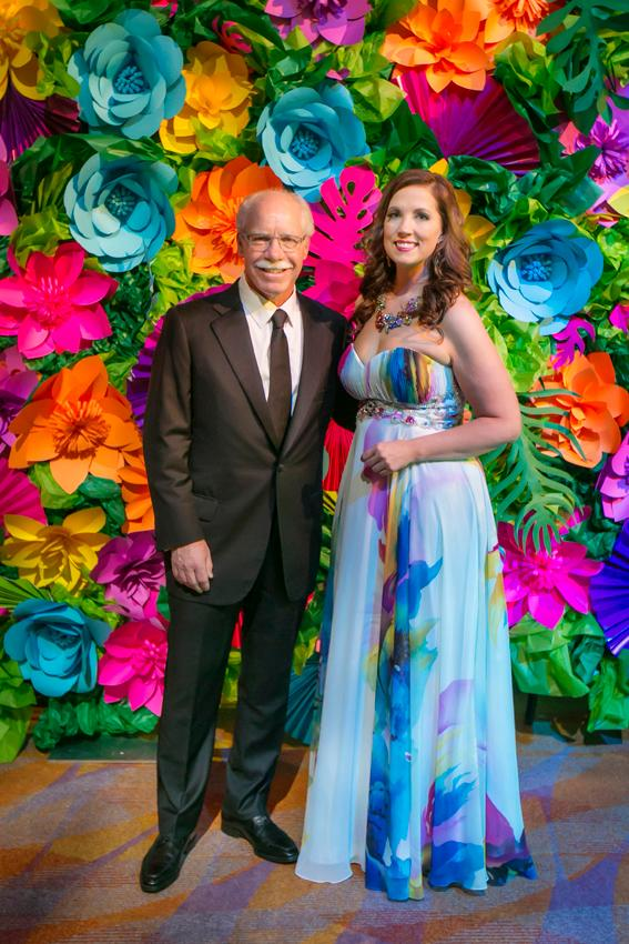 Rich Boehne (2018 honoree) and Melissa Newman (Executive Director of JDRF) / Image: Mike Bresnen Photography