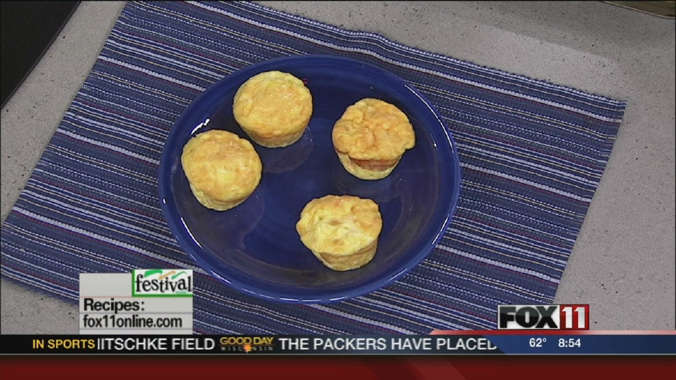 Egg muffin cups from Festival Foods