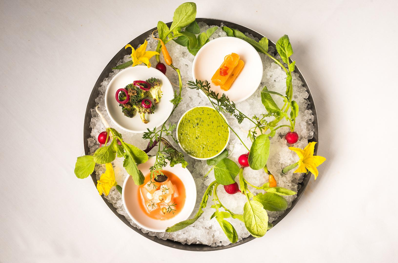 The vegetable crudite at Kith &amp;amp; Kin (Photo by Rey Lopez)<p></p>