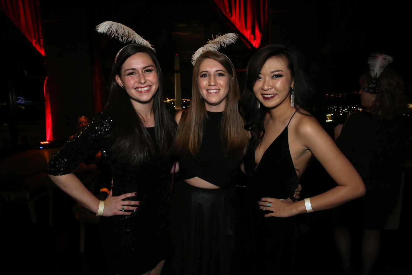 Hailey Sykes, left, Taryn Adler and Crystal Xu. (Amanda Andrade-Rhoades/DC Refined)