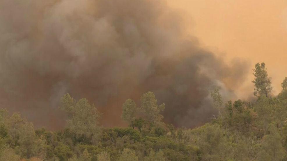 Ferguson Fire in Mariposa now 4,000 acres   KMPH