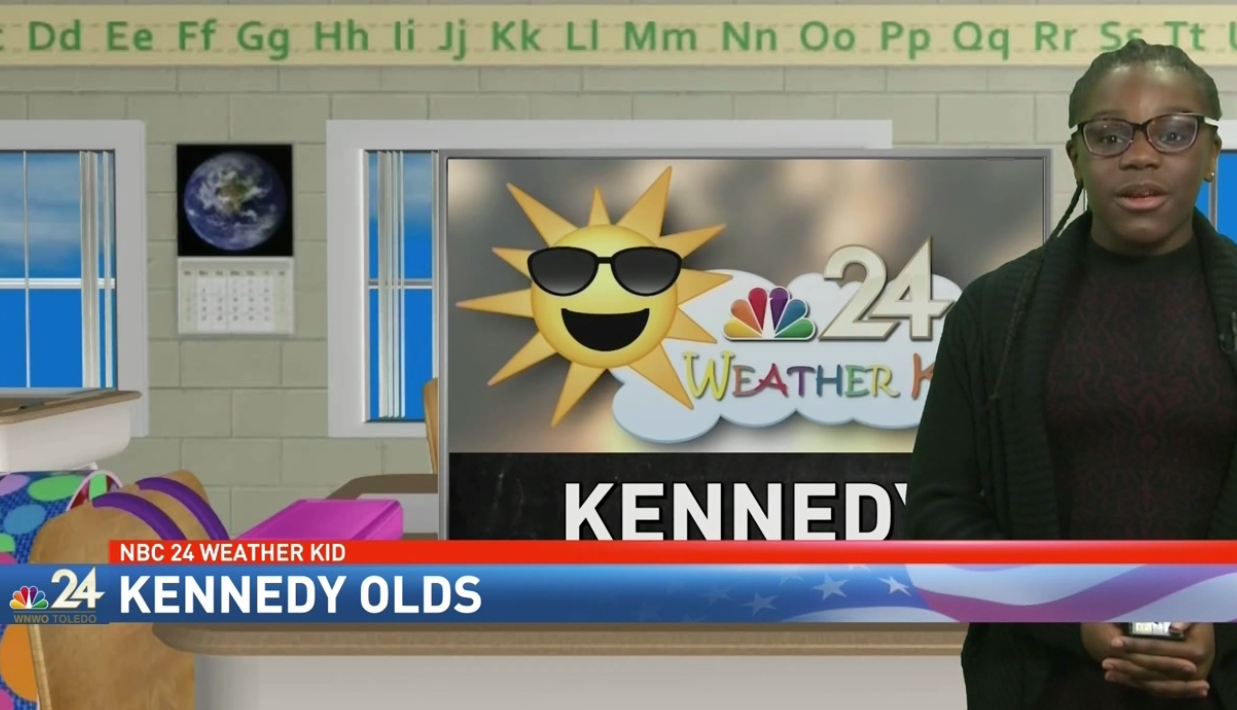 Meet Kennedy! Nominate your weather kid at nbc24.com<p></p>