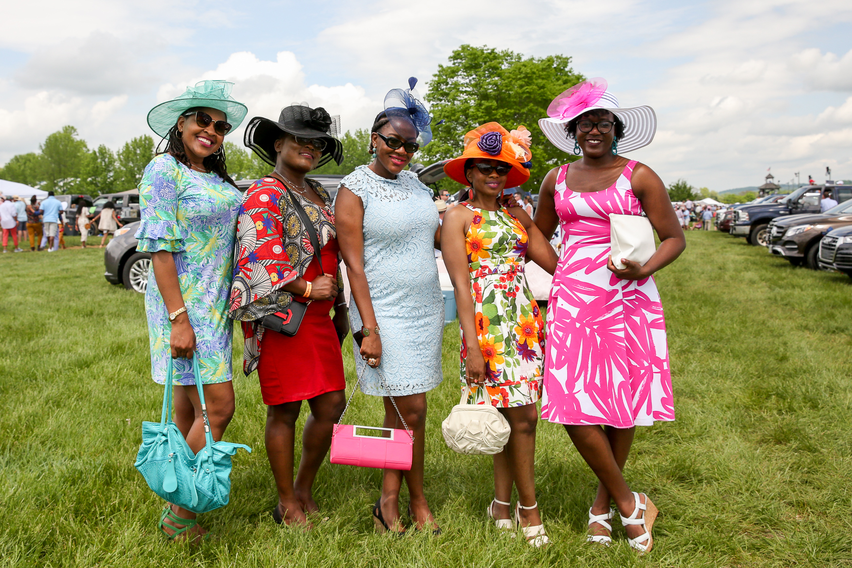 Thousands of people turned out for the 94th annual Virginia Gold Cup in Warrenton, Virginia on May 4. In addition to thrilling horse races, guests also enjoyed a fancy hat competition, tailgating, betting, cigars and living it up. (Amanda Andrade-Rhoades/DC Refined)
