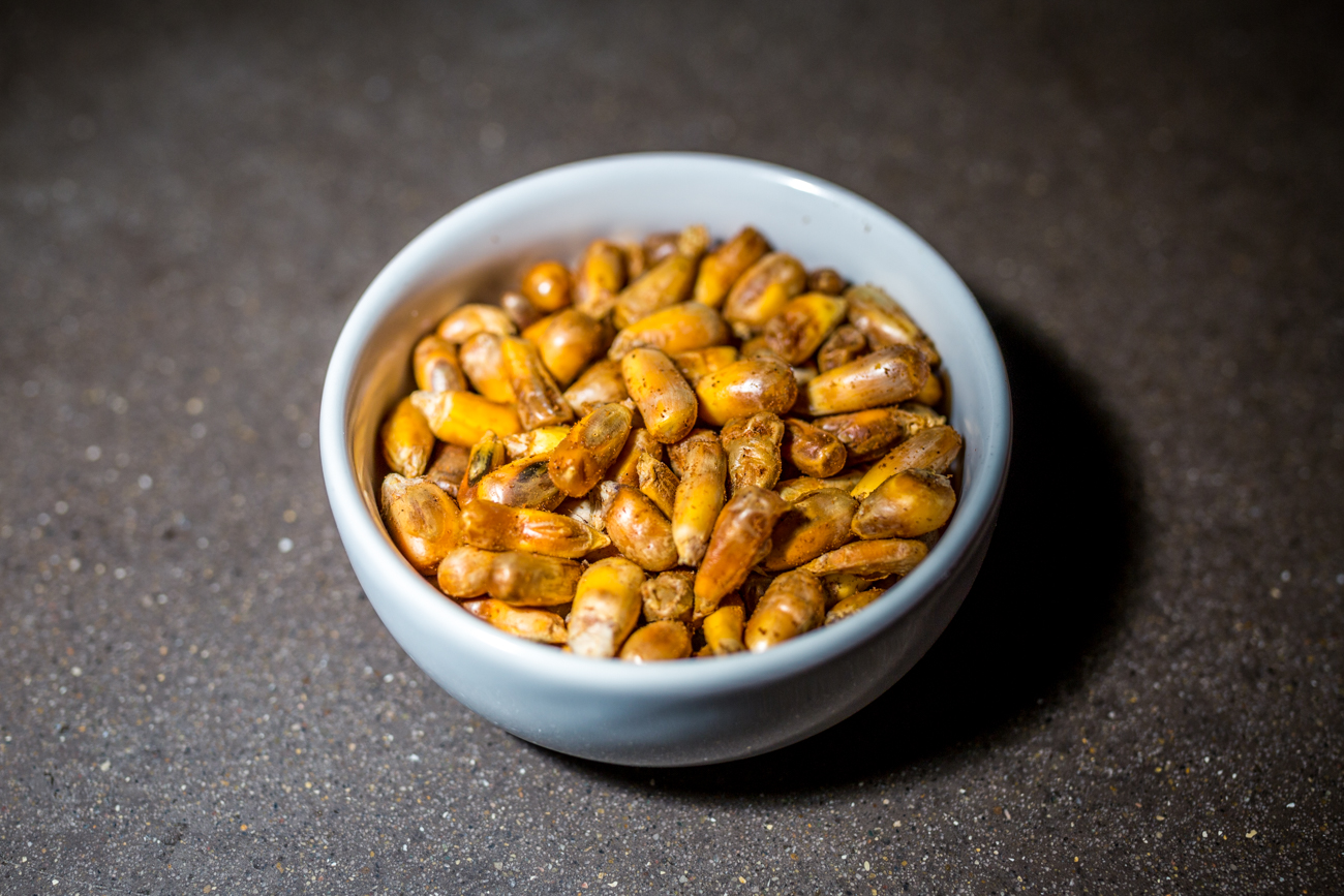 Concha: Peruvian corn nuts / Image: Catherine Viox{ }// Published: 6.12.19