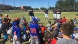 NMSU Baseball hosts kids clinic before putting on a clinic against CSUB