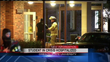 OSU student reportedly sets fire to room, leaps from residence hall