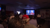 Local parties hold watch party for presidential debate