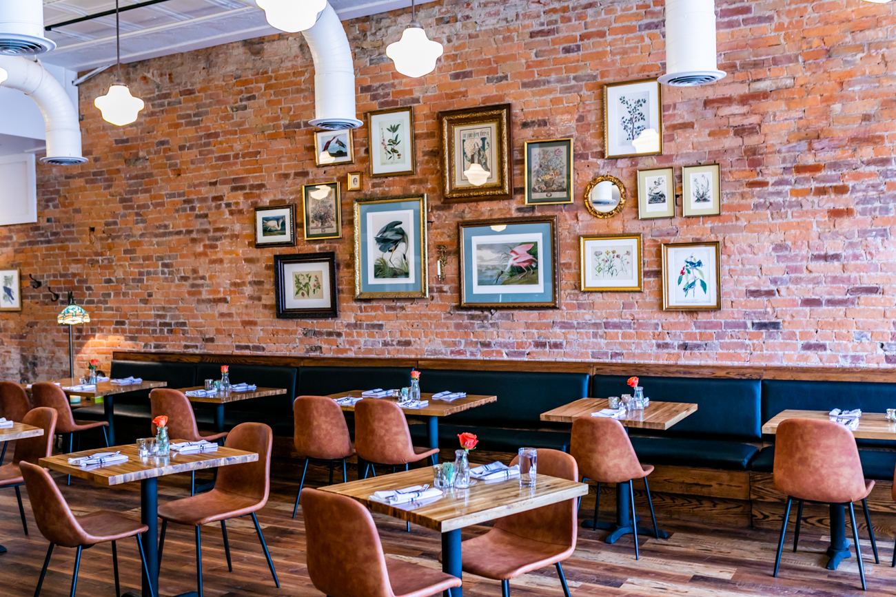 The restaurant is family-friendly and family-owned. Co-owners Chef David Willocks and Wendy Braun are the married couple behind The Baker's Table. They opened their Newport restaurant in December 2018 with the goal of serving healthy cuisine that not only changes with the season, but with the origin of the dish. Their menu boasts an array of everything from French sweets, to Southern comfort food, to stylish Italian plates. / Image: Amy Elisabeth Spasoff // Published: 3.14.19