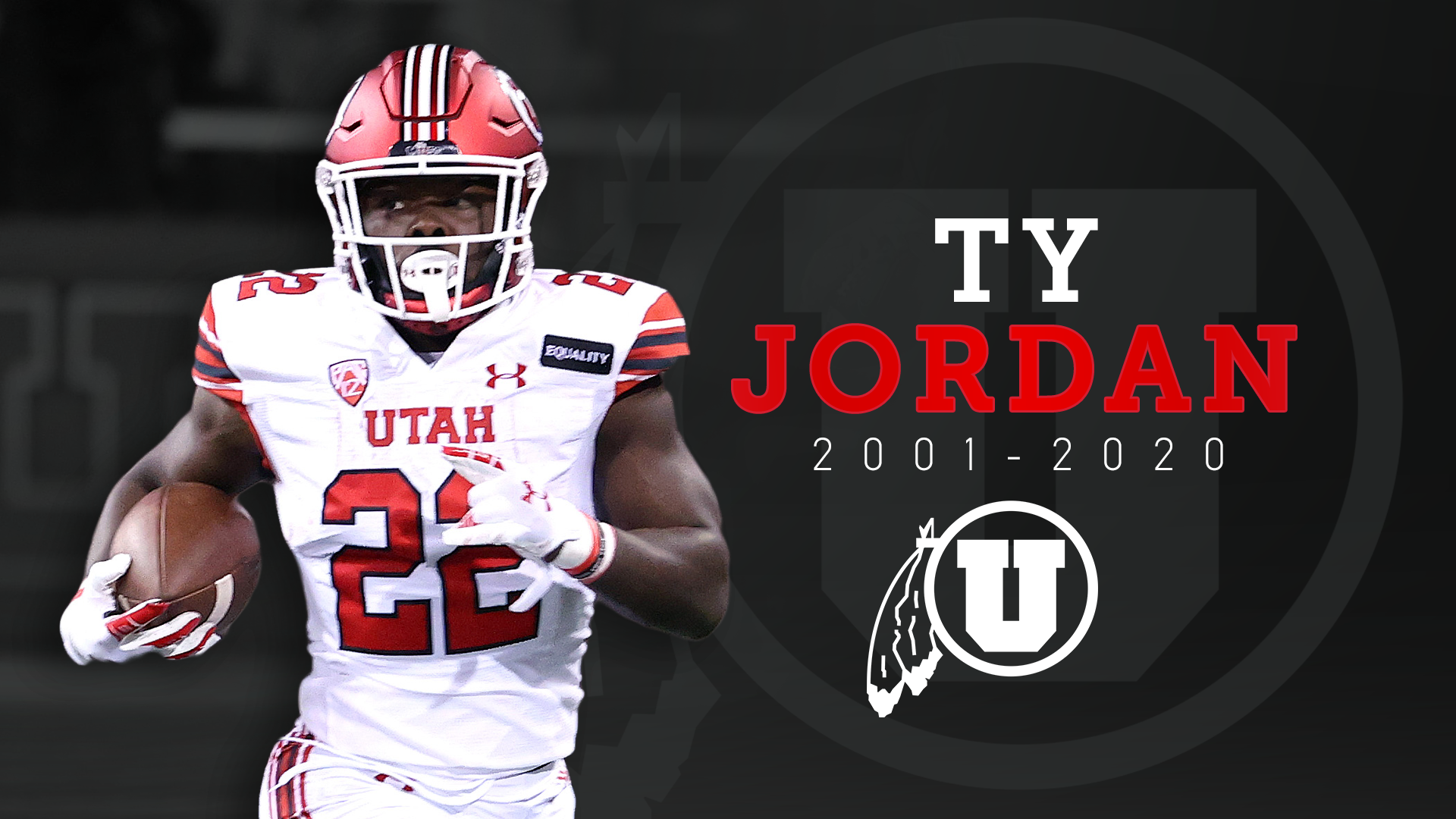 Jordan, 19, a star freshman running back for the Utes, died at a Dallas-area hospital after accidently shooting himself on Christmas day. (Photo: KUTV)