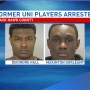 Two former UNI football players arrested
