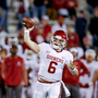 Following sideline antics, Mayfield will not start against West Virginia