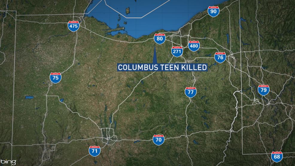 Columbus Teen Killed In Northern Ohio Crash WSYX - Map of northern ohio