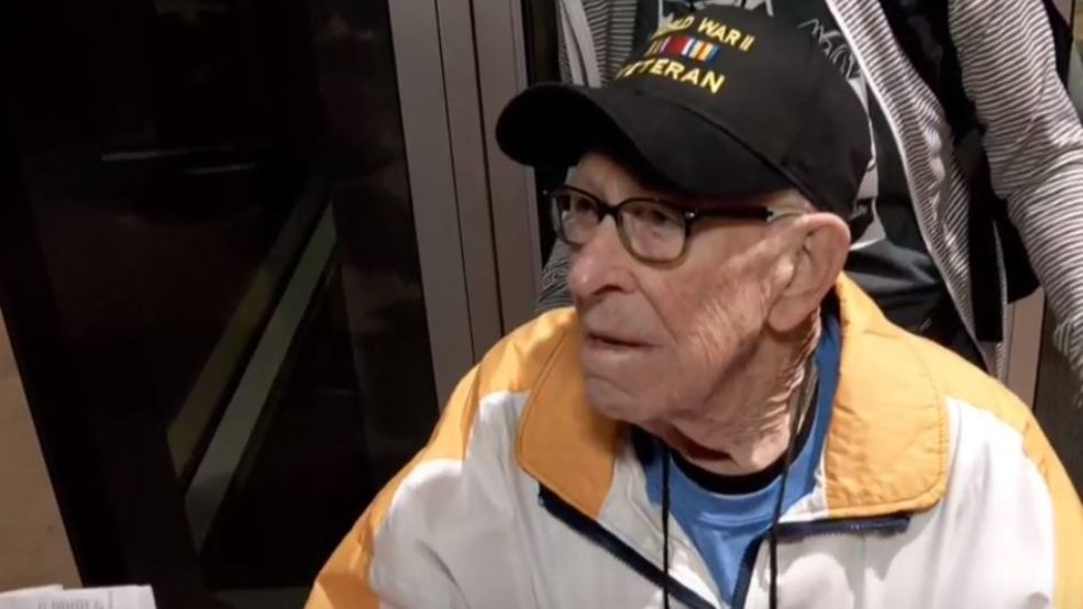 50 Utah veterans attend send-off ceremony before Honor Flight to Washington D.C.