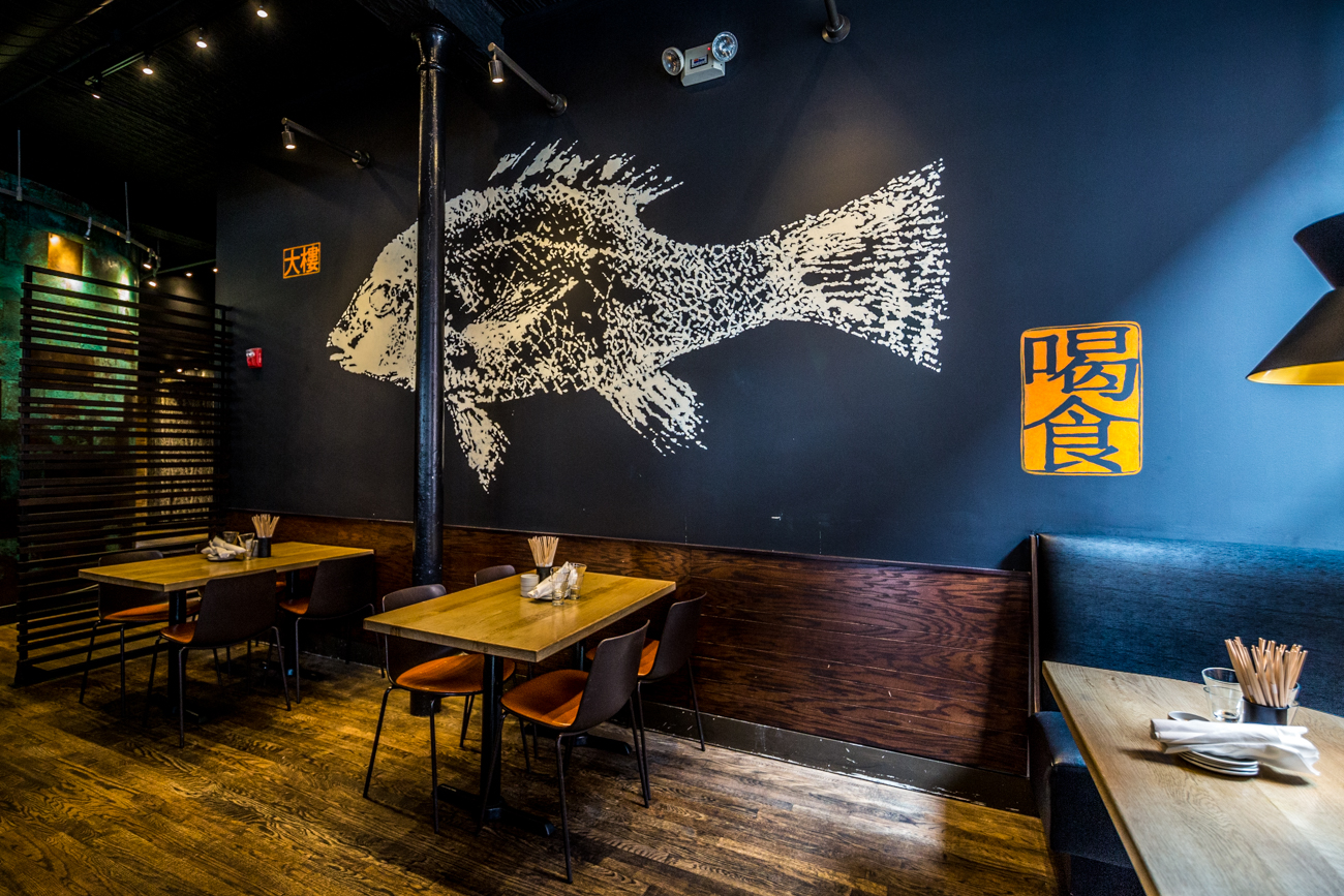 All of the murals in the bar and restaurant were done by BLDG. / Image: Catherine Viox // Published: 9.9.19