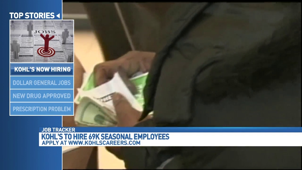 Dollar General, Kohl's hiring thousands for the holidays | WOAI