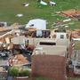 ABC 33/40 Skyview | Aerial view of Jacksonville storm damage