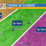 Be weather-aware: Strong to severe storms possible this Thursday-UPDATE