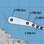 Tropical Storm Beryl forecast to become a hurricane by Friday