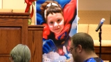 Hundreds honor child killed in school shooting at superhero-themed wake