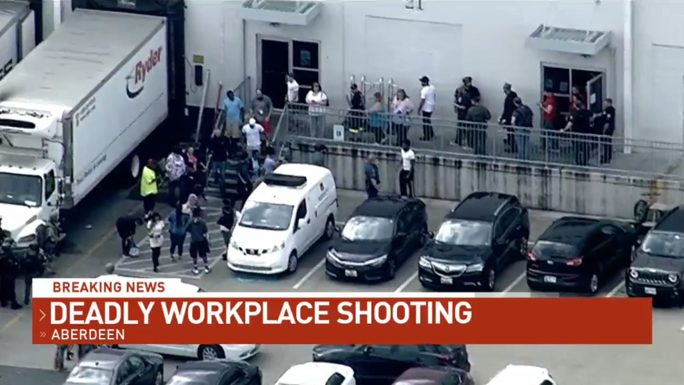 3 killed, female suspect dead in Harford Co  warehouse shooting   WBFF